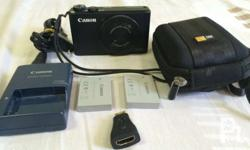 Canon PowerShot S110 image stabilizer. Wi-fi. With