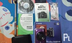 FOR SALE: Canon Powershot SX220 HS - Purple In good