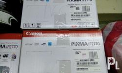 Brand New Canon Printer IP 2770. Prices: Unit with