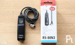 Canon Remote Switch RS-80N3 With box Very good