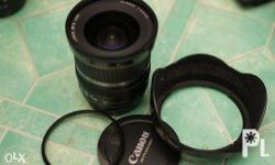 Canon Wide Angle Lens EF-S 10-22mm f/3.5-4.5 USM Almost