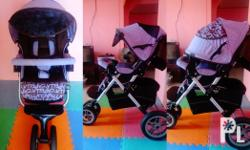 Capella Prism Stroller GOOD AS NEW!!! Dimensions: Open:
