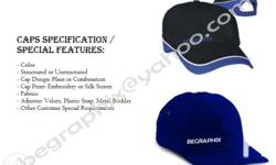 We are one of the Caps Manufacturers / Caps suppliers