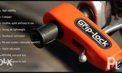 Griplock: Protect your MC's and Electric Bikes/Scooters