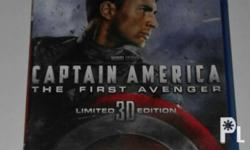 For sale Blu-ray disc Captain America The First Avenger