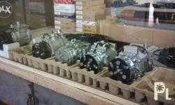 We have any kind of car aircon compressors Brand new