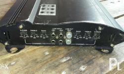 For sale X12-f805 4 channel car amplifier Used and