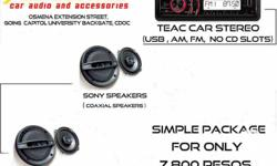 CARAUDIO PACKAGES @ AJCARHUB SimpleCarAudio7,800 Pesos