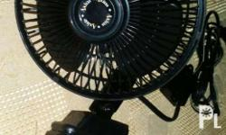 Car fan with clip Imported Black On sale!