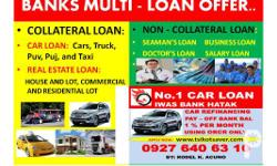 CAR LOAN, BANK AND FINANCING MULTI-LOAN OFFER AT LOWEST
