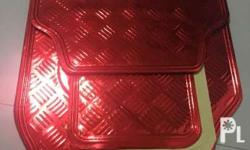 Car matting Brand new, never been used,color mettalic