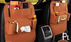 new car Organizer color:Red, orange,,brown available