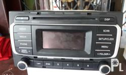 Selling our 2din stereo with led display from Kia rio.