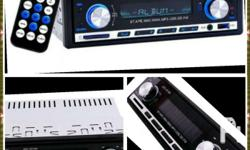 Bluetooth,mp3 player, usb/sd,aux audio player 1 DIN