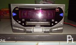 Car Stereo Sony XPLOD 50W X4 FM radio in good