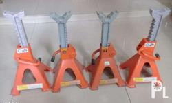 3 ton jackstand model# kjs-3 (4) items . used only once