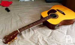 For sale Caraya acoustic guitar like new solid spruce