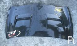 Carbon fiber hood 17k neg Jz racing Fresh For honda