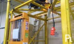 we fabricate all kinds of cargo lift elevator call for