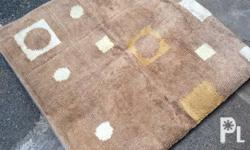 Used brown carpet large size for only 1,3k plus sf in