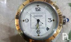 Fine Swiss made watch by Cartier. 100% authentic.