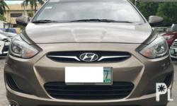 2012 Hyundai Accent 1.4 GL Gas Manual Php 358,000 only