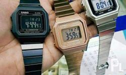 CASIO VINTAGE WATCH FOR SALE 2, 150 pesos WATER