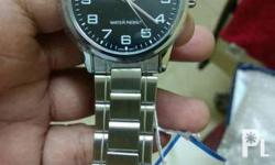 For sale Brandnew Casio enticer men's silver stainless