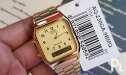 Casio Vintage Aq230 series - 2,200 A178 Gold - 2,200