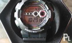 Casio gshock gd100model.water and shock resistant