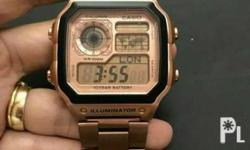 Casio made by japan high quality trendy design and
