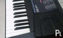 pre loved Casio keyboard with free adaptor, case and