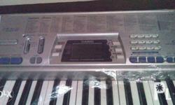 casio keyboard ctk-496 2nd hand smooth no box with