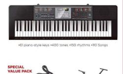 Brand New Casio Keyboard CTK 2090 Special Value Pack