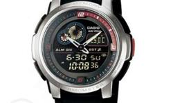 Casio Men's Black Resin Strap Watch AQF-102W-1BV ONHAND