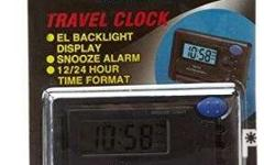 Product Description The Casio Travel Clock Snooze Daily