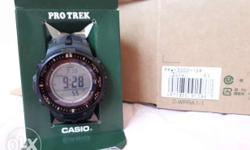 Casio Pro Trek Adventure Sport Watch - Compass -