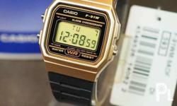 100% Authentic casio with 1year warranty. Complete