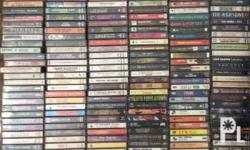 I am selling 400+ cassette tapes in very good