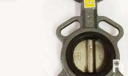 C.I. butterfly valve ss disc T304 lock lever EPDM SEAT
