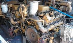 2 units - Caterpillar / CAT 3408 Marine Diesel Engine.