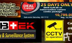 Deskripsiyon Security Cameras WEBTEK CCTV offers