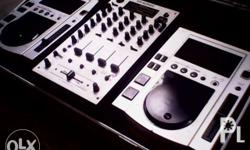 Pioneer cdj100s DJ player set with flight case  cd player  for Sale