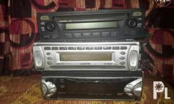 3pcs cd stereo sony jvc toyota all function 2000