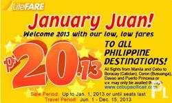 INTELWAY TICKETING SERVICE NEW YEAR PROMO FARE~~~ HAPPY