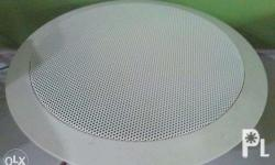 Easy installation ceiling speakers, Rated input: 6