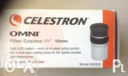 for sale celestron plossi eyepiece 15mm bought at