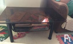 For SALE!! Glass center/side table No longer use