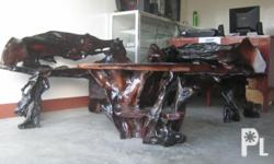 Brand new furnitures made of narra's root.
