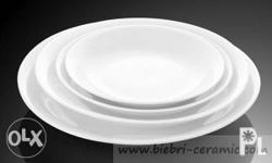 Ceramic round plate for give-aways and gift for